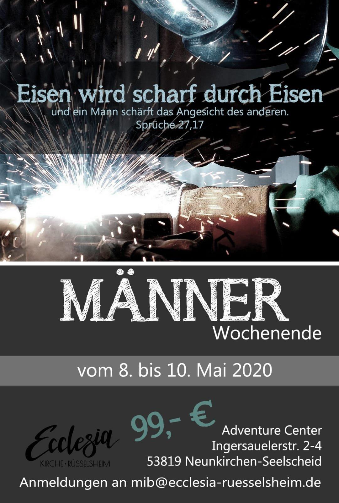 Männerwochenende 08-10 Mai 2020_front